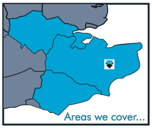 Areas we cover map