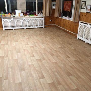 new light oak saftey flooring