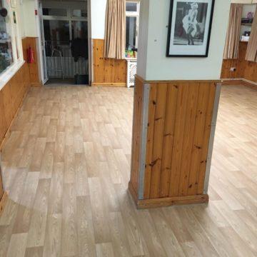 woodplank effect commercial flooring