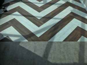 Designer luxury tile flooring