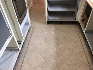 Amtico Signature flooring into corridor