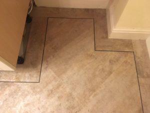 tile effect luxury vinyl tile