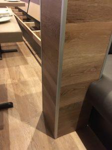Wood effect luxury vinyl tile
